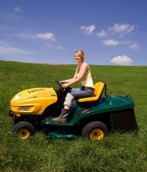 Ride-on mower market research report